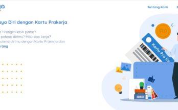 Website Pendaftaran Kartu Prakerja