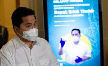 Erick Thohir Bela Direksi dan Komisaris