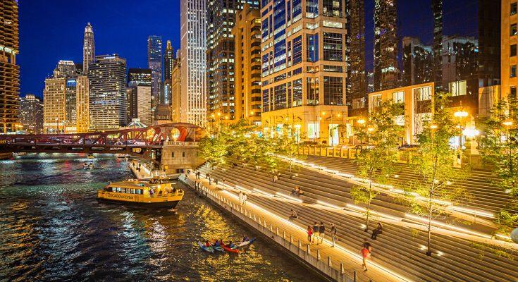 Chicago Riverwalk terbuka untuk bisnis dan kesenangan 735x400 - Chicago Riverwalk terbuka untuk bisnis (dan kesenangan)