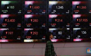 pasar saham terguncang