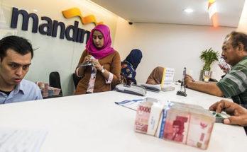 Bank Mandiri Terima Kenaikkan Laba Bersih Jadi Rp 7,92 Triliun